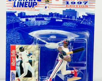 Starting Lineup 1997 MLB Albert Belle Action Figure Cleveland Indians