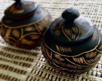 African bowls set