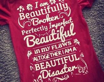 BEAUTIFUL DISASTER T-Shirt