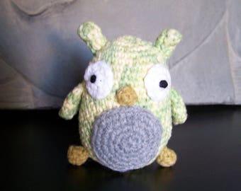 Little OWL handmade crochet