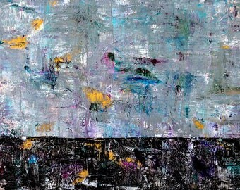 High quality abstract art print - Wound