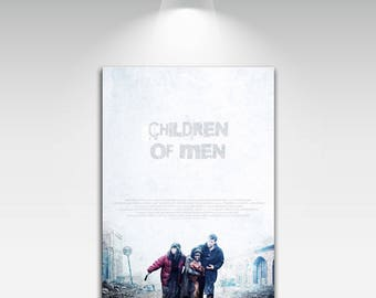 Movie Posters for Childrenof Men Art Print on Canvas Home Wall Decor