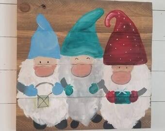 Tomte / Gnome Santa Wall Hanging