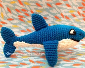 Shark Crochet Amigurumi Plush Toy