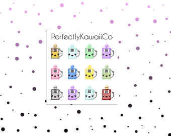 KCD27 Gas Stickers | Refill Gas Stickers | Planner Stickers