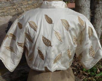 Japanese Silk Embroidered Bolero