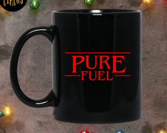Stranger Things - Stranger Things Season 2 - Stranger Things 11 - The Upside Down - Pure Fuel - Stranger Things Mug - Coffee Mug - Netflix -