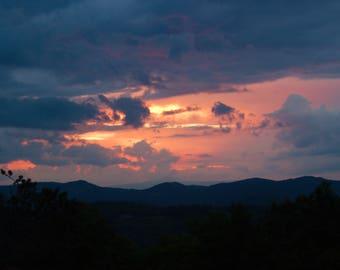 Blue Ridge Parkway...Sunset