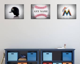 Baseball room decor Etsy