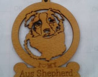 Aus Shepherd Dog Ornament