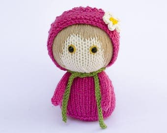 """Knitted toy """"Raspberry"""""""