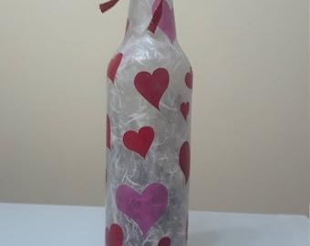 Romantic Lighted Wine Bottle