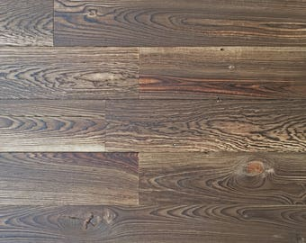 """4"""" Reclaimed Wood Planks from Reclaimed Snow Fence Wood - Yellowstone Finish"""