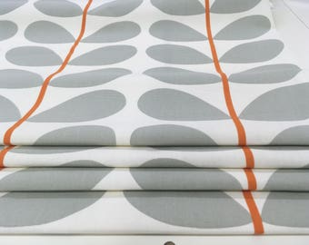 Roman blinds made to measure, Orla Kiely two tone linear stem