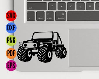Jeep Svg, Jeep Cut Files, Jeep Dxf, Jeep Eps, Jeep Vector, Jeep Cricut, Jeep Silhouette, Jeep Cameo, Truck Svg, Truck Vector, Truck Eps
