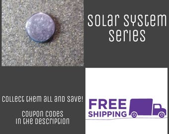 "1"" Mercury - Solar System Series Button Pin or Magnet, FREE SHIPPING & Coupon Codes"
