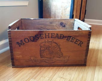 Moosehead Beer Canadian Lager Crate