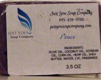 Peace Cold Process all Natural Soap