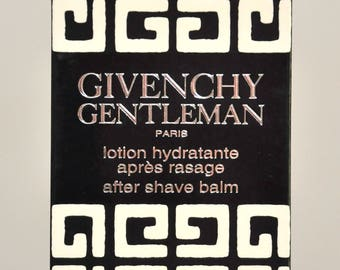 Givenchy Gentleman Lotion Apres Rasage After Shave Balm 110Ml 3 2/3 Fl. Oz. Man Rare Vintage Old 1974 New With Adhesive