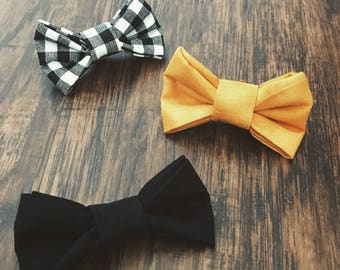 Handmade baby bow ties