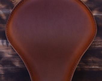 Handmade Bobber Seat Brown