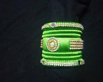 Handmade Silkthread bangles