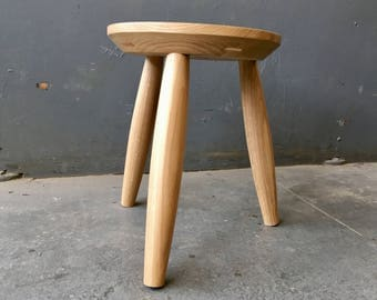 Oak Stool - Kitchen | Side Table | End Table | Planter | Minimal