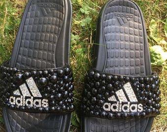 Custom adidas slides