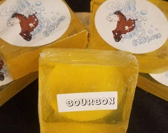 Bourbon Clear Soap