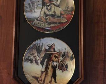 Noble American Indian Women Pine Leaf Sacajawea