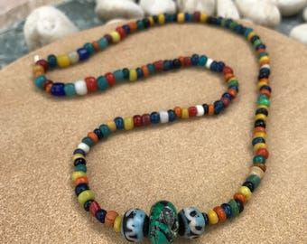 Ancient beads necklace