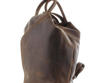 Women Leather Backpack Travel Rucksack Shoulder Bag Satchel Handbag AU