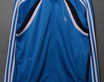Adidas-jacket hooded 90s sz m (a1736)