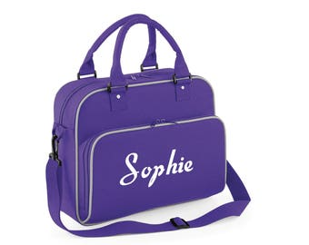 iLeisure Girls Personalised Styalised Name Kit Bag.