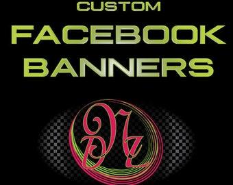 Custom Facebook Banners