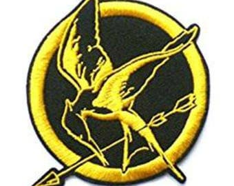 The Hunger Games Mockingjay 3.5 Inch Sew On or Iron On Application Applique Patch