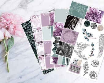 Lilac - Kit (for Erin Condren vertical Planner)