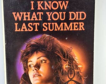 I know what you did last summer novel