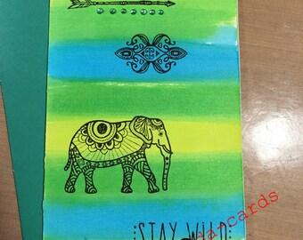 Bright Stay Wild Card