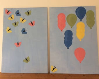 Balloons and Butterflies