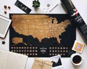 Couples Travel Map Etsy - Us map pictures of couple