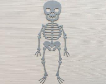 Skeleton Die Cuts
