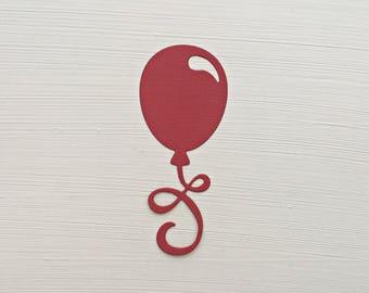 Balloon Die Cuts