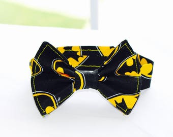 Batman Bowtie. Adjustable. Infant-6 years. Superhero!