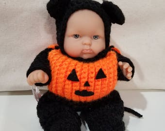 Pumpkin Baby Doll