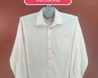 Vintage Mr Junko Shirt Long Sleeve Pink Colour Designer Comme des Garcons Shirts Yohji Yamamoto Shirts Issey Miyake