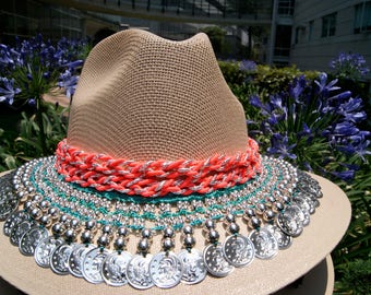 Gipsy hat for woman Beach