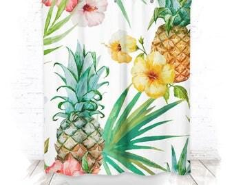 Shower curtain / shower curtain 150cm TROPIC