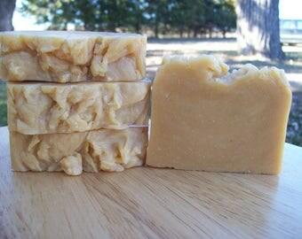 New Morning Farm Goat Milk Soap Tangerine