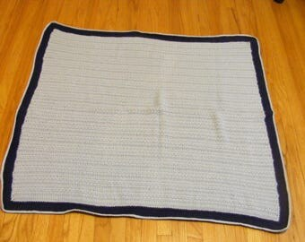Little Boy Blue afgan baby blanket